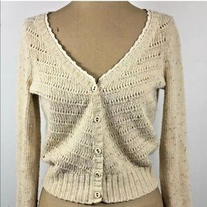 Anthropologie Coincidence Chance Cardigan Sweater